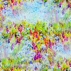 Aster Season Fabric Design by Regina Valluzzi