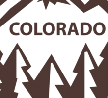 Colorado Throwback Sticker