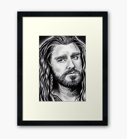 Richard Armitage as THORIN Framed Print