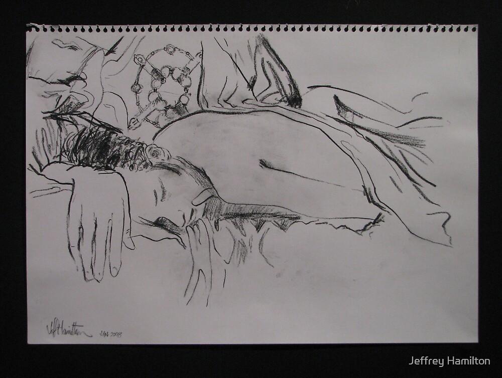 Drawings in the Dark: No3 by Jeffrey Hamilton