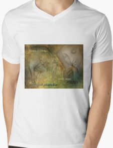 The Drawing Lesson Mens V-Neck T-Shirt