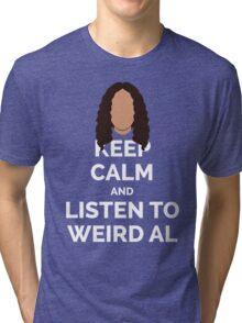 Keep Calm Weird Al Tri-blend T-Shirt