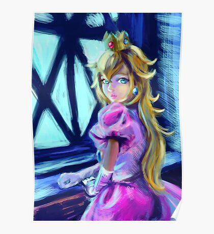 Peach princess Poster