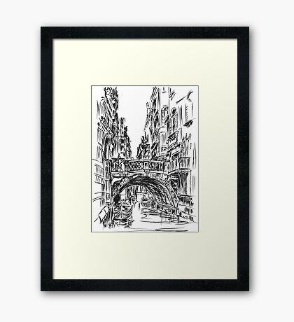 Venice 1 Framed Print