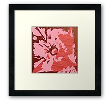 Blooming Passion Framed Print