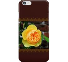 Yellow Rose ~ Symbol of Friendship iPhone Case/Skin