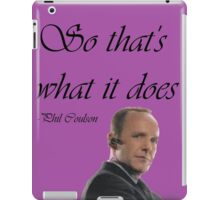 Phil Coulson iPad Case/Skin