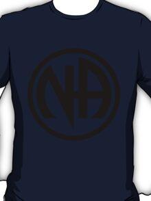 Narcotics Anonymous Black T-Shirt