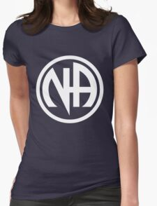 Narcotics Anonymous White Womens Fitted T-Shirt
