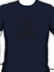 Narcotics Anonymous Chunky Black T-Shirt