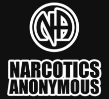 Narcotics Anonymous Chunky White by narcanon
