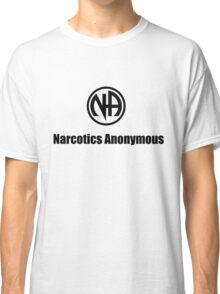 Narcotics Anonymous Small Black Classic T-Shirt