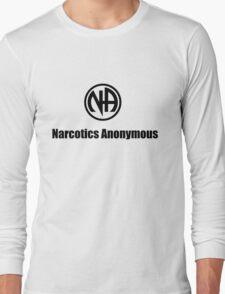 Narcotics Anonymous Small Black Long Sleeve T-Shirt