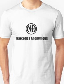 Narcotics Anonymous Small Black T-Shirt