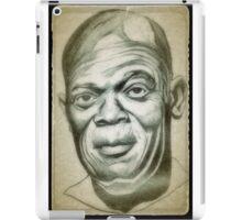Samuel L. Jackson drawing iPad Case/Skin