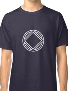 Chunky Symbol White Classic T-Shirt