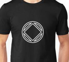 Chunky Symbol White Unisex T-Shirt