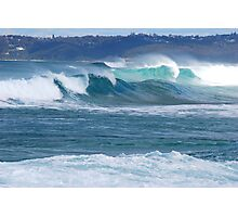 Surf Thunder - Newcastle Beach NSW Photographic Print