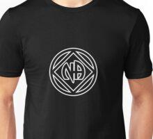 Chunky Symbol and Name White Unisex T-Shirt