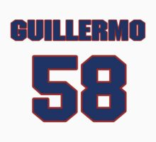 National baseball player Guillermo Moscoso jersey 58 by imsport