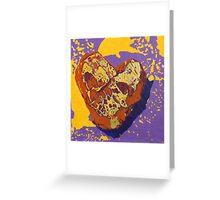 Kintsugi Golden Heart Greeting Card