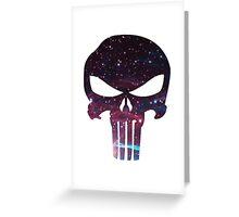 Punisher Galaxy Greeting Card
