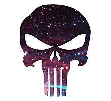 Punisher Galaxy Photographic Print