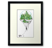 Emerald City Framed Print