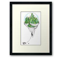 Emerald City Framed Print