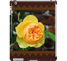 Yellow Rose ~ Symbol of Friendship iPad Case/Skin