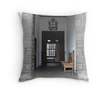 Lanzarote Door Throw Pillow