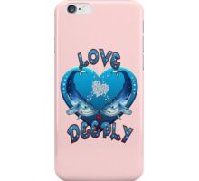 Love Deeply (pink) iPhone Case/Skin