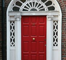 Red Door No. 16 by Donna Corless