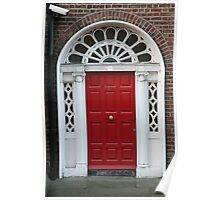 Red Door No. 16 Poster