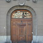Door No. 2 - Stockholm Sweden by Allen Lucas