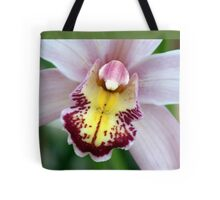 Peaceful Pink; Patricia Merz; Greenhouse/Gardens, Gr. Hills, CA USA  Tote Bag