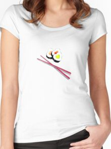 I heart Sushi Women's Fitted Scoop T-Shirt