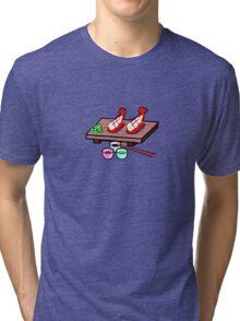 STOP! Sushi Time Tri-blend T-Shirt