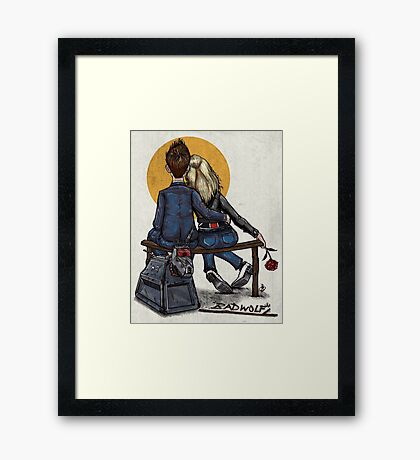 Little Timey Wimeies Framed Print