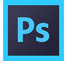 Photoshop Logo Photographic Print