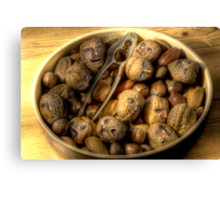 We're all nuts #1 Canvas Print