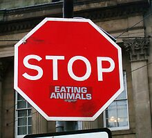 Stop Eating Animals by incurablehippie