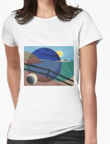 Journey Through The Keyhole Womens Fitted T-Shirt