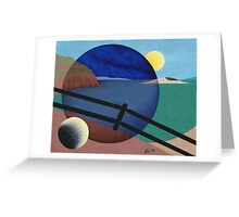 Journey Through The Keyhole Greeting Card