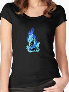 Self-Immolation Women's Fitted Scoop T-Shirt