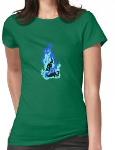 Self-Immolation Womens Fitted T-Shirt