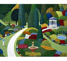 Formal Gardens Photographic Print