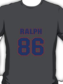 National football player Ralph Coleman jersey 86 T-Shirt