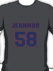National baseball player Jeanmar Gomez jersey 58 T-Shirt
