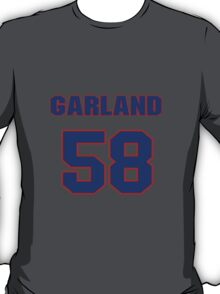 National baseball player Garland Kiser jersey 58 T-Shirt